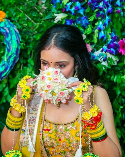 floral mask for brides , indiain bridal dace mask for covid wedding , corona wedding