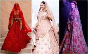 bollywood brides, anusha sharma lehenga , priyanka chopra lehenga , bollywood wedding s#bollywoodweddiings #indianweddings #indianbrides #bollywoodweddings #bollywoodbrides , #weddingpost #theweddinpost , the wedding post
