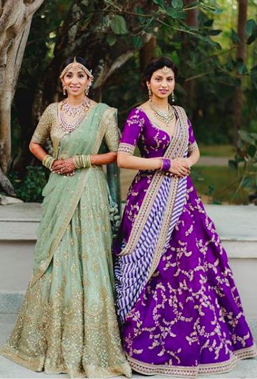 Purple sabyaschi lehenga , green sabyasachi lehenga , #purplelehenga , #pruplesabyasachilheenga