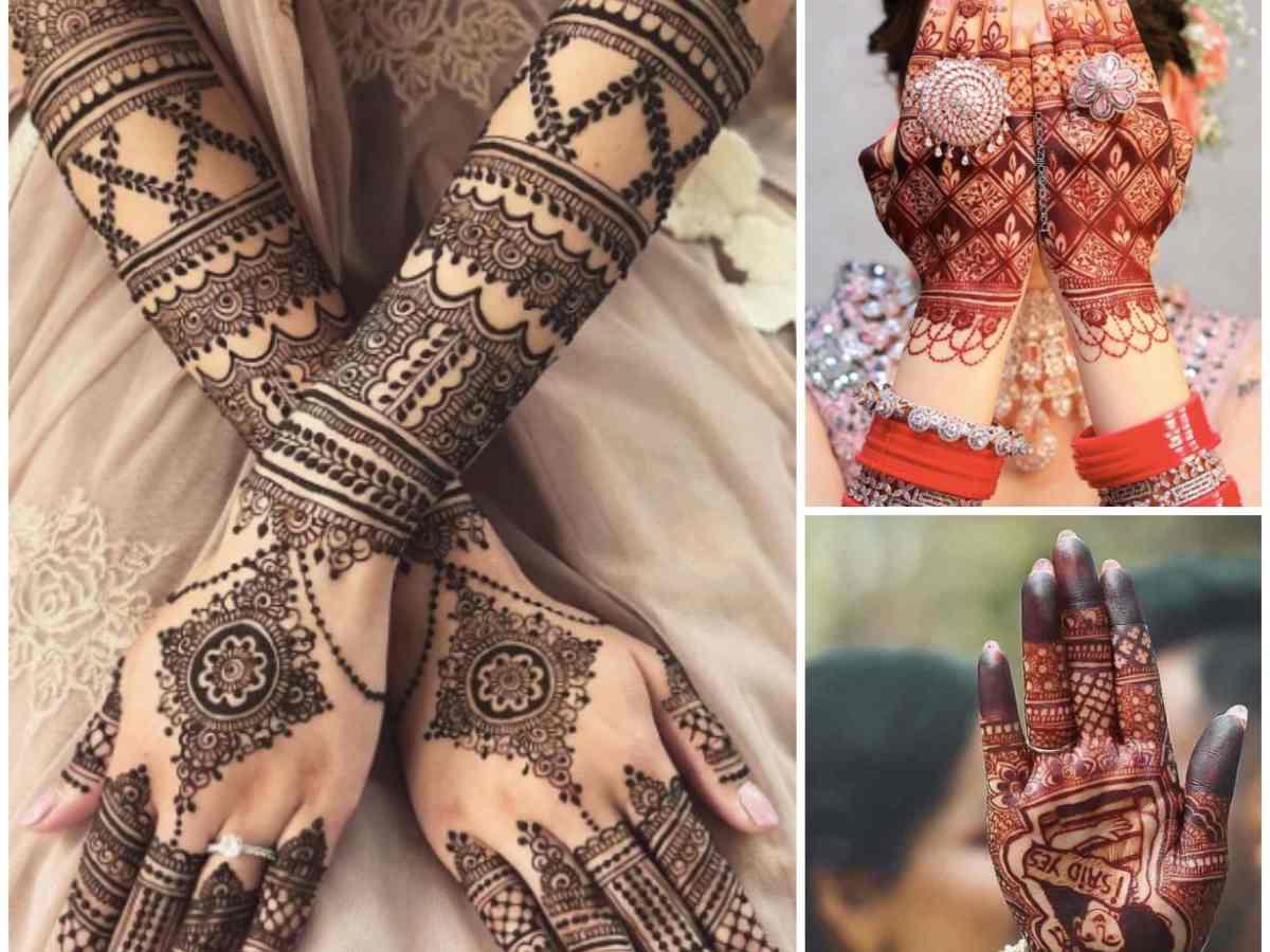 bridal mehendi , indian wedding , indian brides