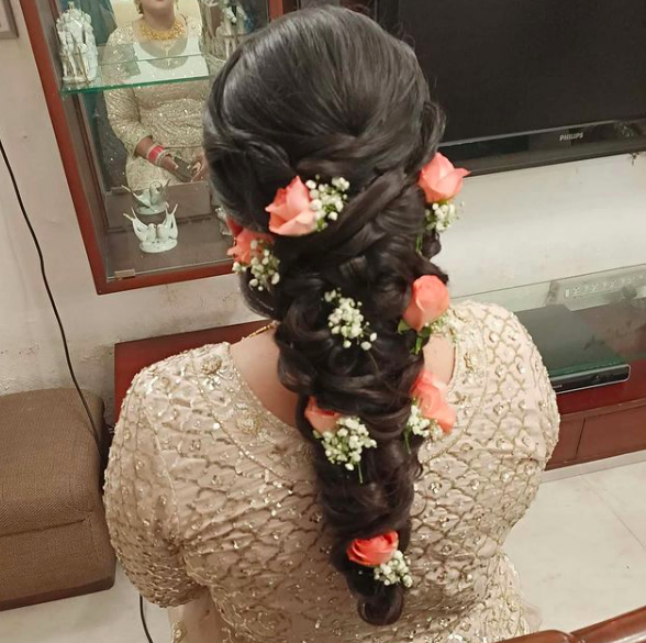 Latest Bridal Hairstyles For Indian Brides For 2021 Bridal Look The Fashion Post The Wedding Post